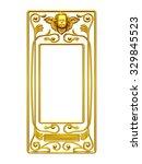 Golden  Ornamental Frame Or...
