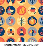 seamless background with... | Shutterstock .eps vector #329847359