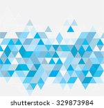 abstract geometric background.... | Shutterstock .eps vector #329873984