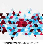 abstract geometric background.... | Shutterstock .eps vector #329874014