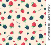 Berries Seamless Pattern.vecto...
