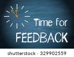 Time For Feedback   Clock With...