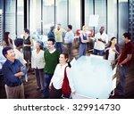 business people team teamwork... | Shutterstock . vector #329914730