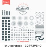 125 premium starbursts and... | Shutterstock .eps vector #329939840