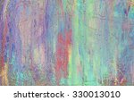 multicolored chalk drawing on... | Shutterstock . vector #330013010