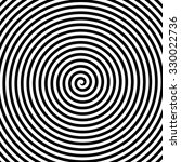 concentric lines. spiral.... | Shutterstock .eps vector #330022736