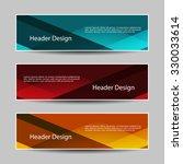 header designs | Shutterstock .eps vector #330033614