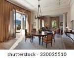 classical interiors  luxury... | Shutterstock . vector #330035510