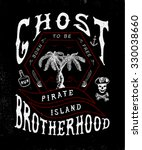 58 ghost brotherhood. handmade... | Shutterstock .eps vector #330038660
