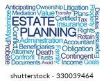 estate planning word cloud on... | Shutterstock . vector #330039464