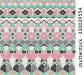 ethnic seamless pattern.... | Shutterstock .eps vector #330039554