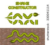 Green Snake Body Elements ...