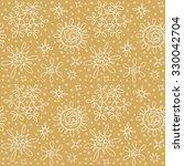 greetings seasonal hand drawn... | Shutterstock .eps vector #330042704