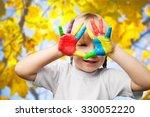 child. | Shutterstock . vector #330052220