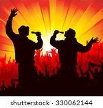 poster for concerts | Shutterstock .eps vector #330062144