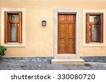 Wood Door And Windows With...