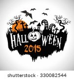 halloween graphic design | Shutterstock .eps vector #330082544