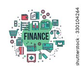 a finance related illustration  ... | Shutterstock .eps vector #330104264