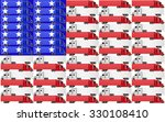 Red  White And Blue Trucks Wit...