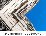 urban geometry  looking up to... | Shutterstock . vector #330109940