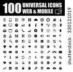universal icons | Shutterstock .eps vector #330121019