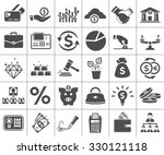 Investment, banking, money and finance icon | Shutterstock vector #330121118
