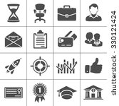 business icons | Shutterstock .eps vector #330121424