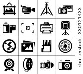 camera and photography icons | Shutterstock .eps vector #330121433