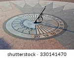 Sundial In The Evening
