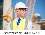 confident construction engineer ... | Shutterstock . vector #330146708