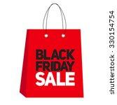 black friday sale label vector...   Shutterstock .eps vector #330154754