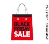 black friday sale label vector... | Shutterstock .eps vector #330154769