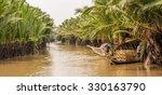 mekong delta in vietnam | Shutterstock . vector #330163790