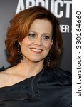 Small photo of Sigourney Weaver at the Los Angeles premiere of 'Abduction' held at the Grauman's Chinese Theatre in Hollywood, USA on September 15, 2011.