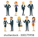 business vector people | Shutterstock .eps vector #330175958