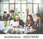 business team cooperation... | Shutterstock . vector #330176930