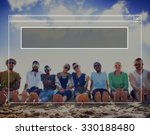 copy space blank idea... | Shutterstock . vector #330188480