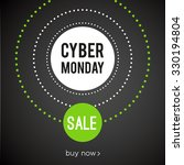 cyber monday sale | Shutterstock .eps vector #330194804