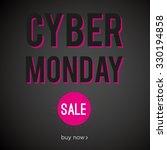 cyber monday sale | Shutterstock .eps vector #330194858