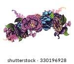 colorful decorative flower...