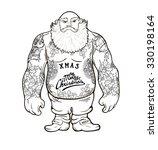 funny cartoon illustration of... | Shutterstock .eps vector #330198164