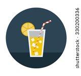 lemonade colored vector icon  | Shutterstock .eps vector #330200336
