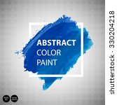 watercolor abstract background... | Shutterstock .eps vector #330204218