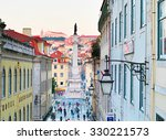 lisbon  portugal   jan 12  2015 ... | Shutterstock . vector #330221573