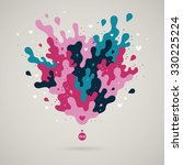 abstract design element  with... | Shutterstock .eps vector #330225224