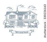 real estate market concept flat ... | Shutterstock .eps vector #330226163