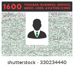 manager vector icon and 1600... | Shutterstock .eps vector #330234440