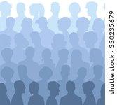 seamless pattern of people... | Shutterstock .eps vector #330235679