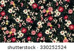 Stock vector seamless cute flower vector pattern 330252524