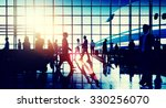 international airport airplane... | Shutterstock . vector #330256070